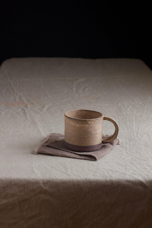 Clay cup from Araucaria Ceramics