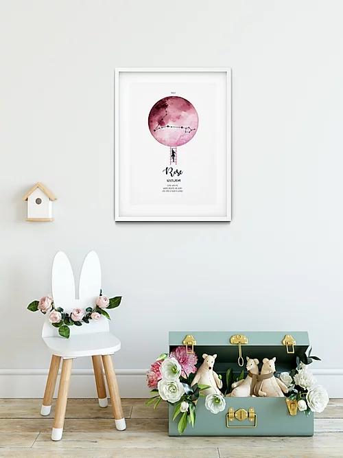 Personalised prints from Minikin Studio, €35