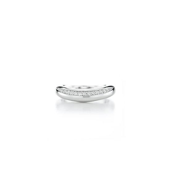 Love Moment Bold Zirconia Silver Ring