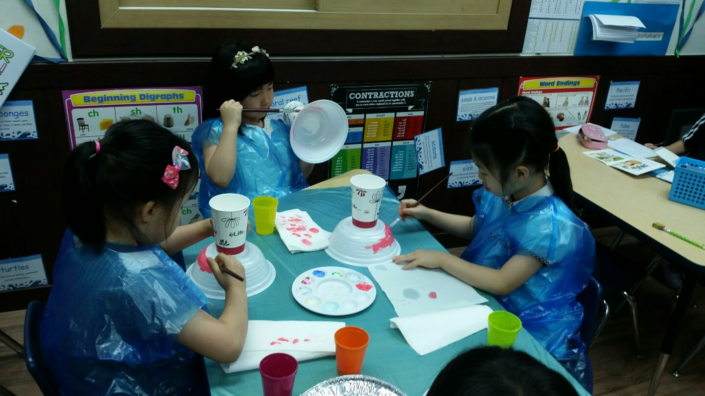 Classroom art activity