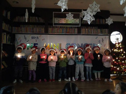 Mini concert performed by students