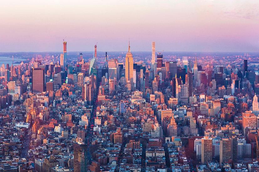 Magic Hour over NYC