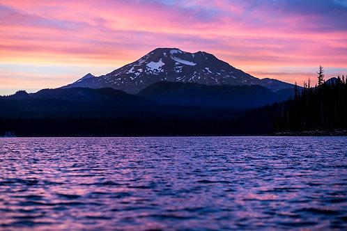 Oregon's Purple Sunset