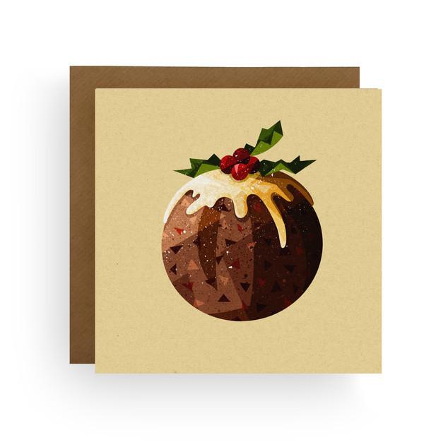 Figgy Pudding Christmas Card