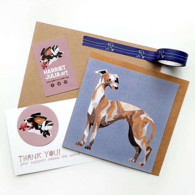 Greyhound card £3.50