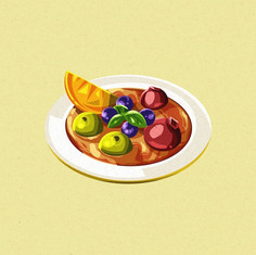 Simmered Fruits
