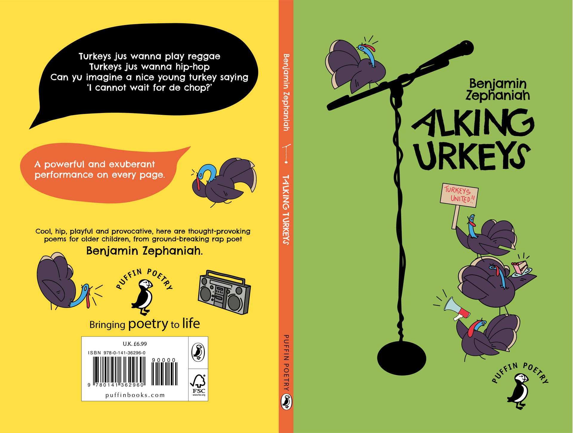 Talking Turkeys Book Cover Design