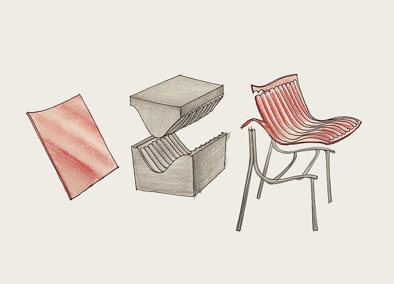 the pleats chair _ sketch-02 2.jpg