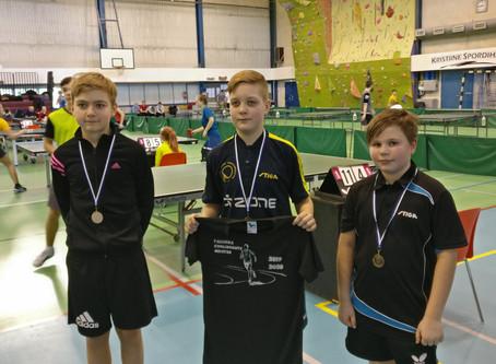 Tallinna koolide lauatennise meistrivõistlused olid Rocca al Mare tiimile edukad!