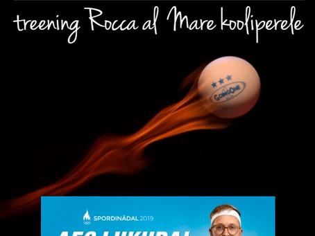 Avatud lauatennisetreening Rocca al Mare koolis!