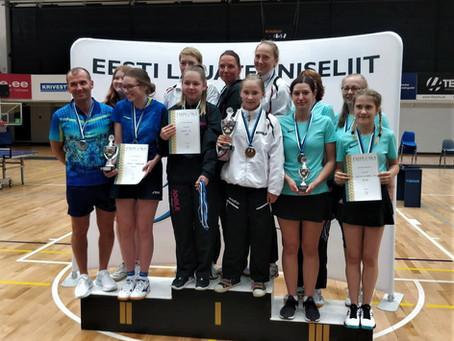 Rocca al Mare LTK Eesti võistkondlike MV esiliiga naiskondade kolmas!