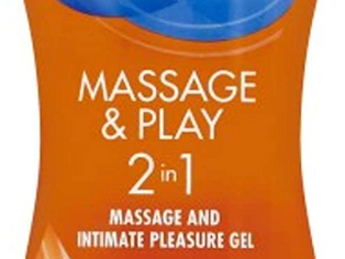 Durex Massage & Play 2 in 1 Lubricant Intensify, 6.76 oz