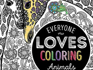 Bendon Animals Advanced Coloring Book