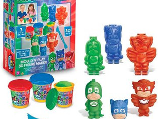 Cra-Z-Art PJ Masks Softee Dough 3D Maker Action Figure Mold