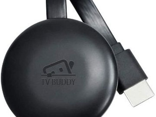 TV Buddy Caster Wireless Streaming Full HD Videos Movies from Smartphone Tablet Computer to Widescre