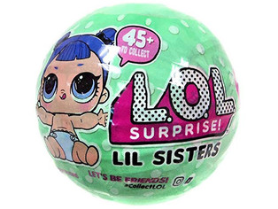 Lil OutraLOL Surprisegeous Littles Lil Sisters Series 2 Lets Be Friends Mystery Pack Wave 2