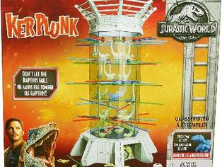 Kerplunk! Raptors Jurassic World