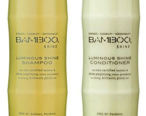 Bamboo Shine Luminous Shampoo and Conditioner Set, 8.5-Ounce
