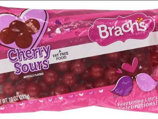 Brachs Cherry Sours 10 Oz