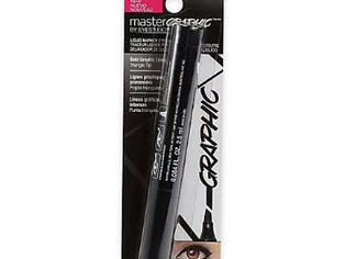 Maybelline , Eye Studio Master Graphic Liquid Eyeliner, Striking Black, 0.084 Oz,