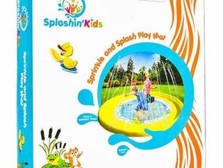 "Splashin'kids 68"" Sprinkle and Splash Play Mat Pad"