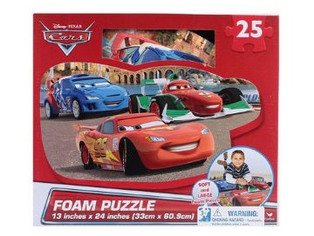 75% ROI Disney Cars 25-Piece Floor Foam Puzzle Mat