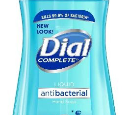Dial Liquid Hand Soap, Spring Water, 7.5 OZ,  2 Pack