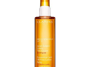 Clarins Sunscreen Spray Oil-Free Lotion with SPF 15, 5 Ounce