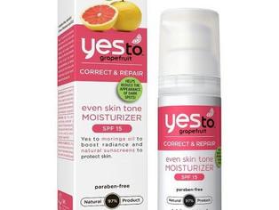 Yes to Grapefruit Even Skin Tone Moisturizer SPF 15,  1.4 OZ