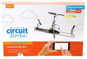 Circuit Scribe Drone Builder Kit for Kids, Build Your Own Drone with Camera