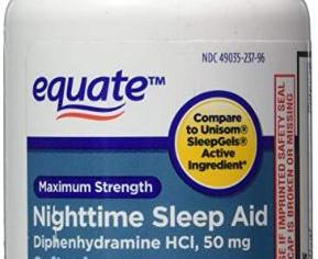 Sleep Aid 50 mg, Maximum Strength, 96 Softgels