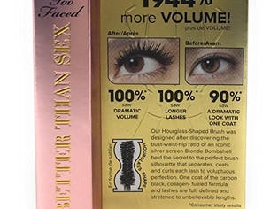 Too Faced Better Than Sex Mascara 0.17 ounce - Mini Travel size
