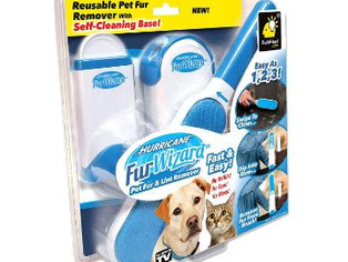 Hurricane Fur Wizard Pet Hair Remover & Lint Remover by BulbHead