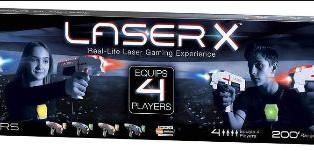 Laser X - Four Player Laser Gaming Set