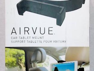 Kenu Airvue, Car Headrest Tablet Mount, Black