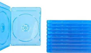 (10) Blu-ray Cases 10mm 2-Disc DOUBLE with Logo