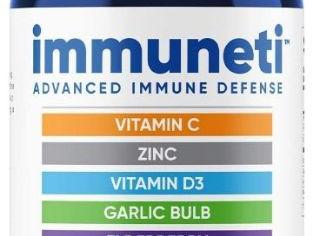 Immuneti - Advanced Immune Defense, 6-in-1 Powerful Blend of Vitamin C, Vitamin D3, Zinc, Elderberri