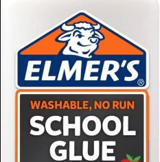 Elmers Liquid School Glue, White, Washable, Great for Making Slime, 16 Oz