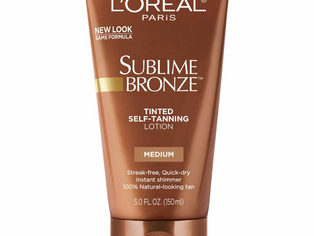 L'Oreal Paris Skincare Sublime Bronze Tinted Self-Tanning Lotion Medium Natural Tan, Sunless tanning