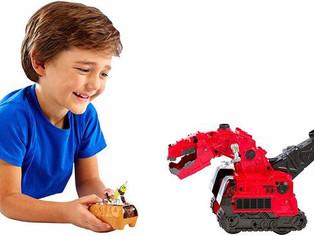 Mattel Dinotrux Reptool Control Ty Rux