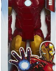 "Avengers Series Marvel Assemble Titan Hero Iron Man 12"" Action Figure"