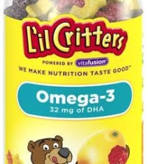 Lil Critters Omega-3 Gummy Fish With Dha-180 Fish