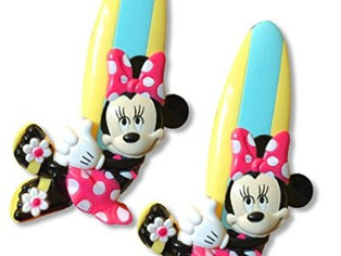 Minnie Mouse Boca Beach Towel Clip