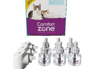 Comfort Zone Multicat Diffuser Kit for Cat Calming