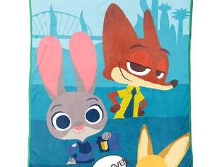 """Disney/Pixar Zootopia 'Bunny Ears' Plush Throw, 50"""" x 60"""""""
