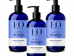 EO Sulfate-Free Moisturizing Hand Soap - French Lavender - 12 Ounces - 3 Count
