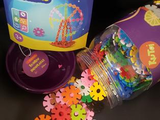 Rainbow Snow Flakes 300 Discs