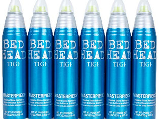 Tigi Bed Head Masterpiece Massive Shine Hairspray  9.5 Oz - 6 PACK