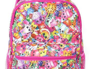 UPD Shopkins Girls' All Over Print Backpack (Multi Pink, One Size)