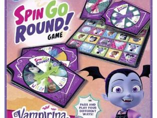 Wonder Forge Disney Junior Vampirina Spin Go Round! Game